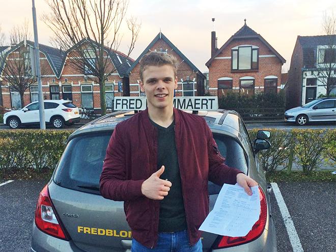 Geslaagden FredBlommaert.nl